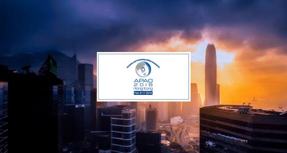 See you in Hong Kong – APAO 2018!