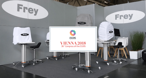 Warm welcome during ESCRS 2018.