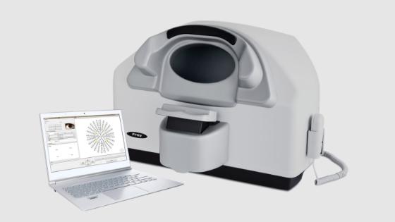 Grafton Optical launches Frey AP-50 Desktop Auto Perimeter.