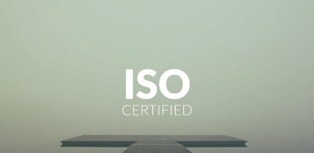 Frey with ISO certification.