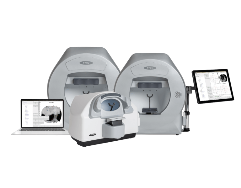 Frey Automated perimeters for eye diagnostics, visual field examination