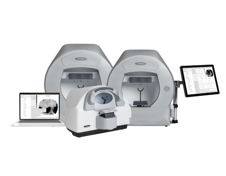 Frey Automated perimeters for eye diagnostics, visual field examination