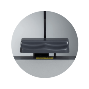 Frey Automated Perimeter chinrest disinfection
